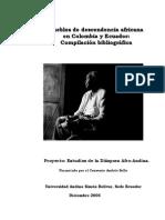 Bibliografia Afroecuat Colomb 2005