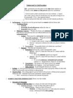 Bar - Civil Procedure Outline W- California Distinctions