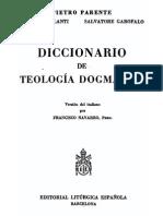 PARENTE Diccionario de Teologia Dogmatica