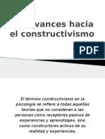 7.- Avances Hacia El Constructivismo