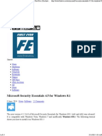 Microsoft Security Essentials 4.5 for Windows 8.1 _ First Ever _ Exclusive Technology News.pdf