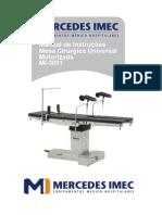 Mesa Cirurgica Mercedes -3001_13001-002