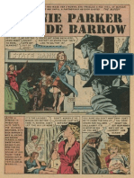 Bonnie and Clyde Comic Book.