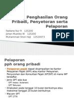 Penyetoran Pelaporan Tambahan (1)