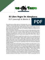Lovecraft, H.P. & Warnes, Martin S. - El Libro Negro de Alsophocus