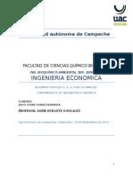 Resumen FUNDAMENTOS DE INGENIERIA ECONOMICA