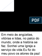 missa  da manhã do 1º domingo da quaresma 22-02- 2015.ppt