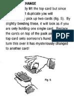 Tricks With a Svengali Deck