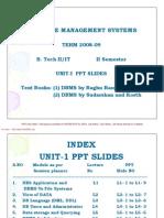UNIT01 DBMS [