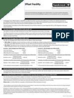 Mortgage Saver Offset Fact Sheet