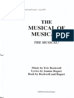 The Musical of Musical Libretto