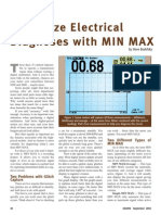 Maximize Electrical Diagnoses With Min Max