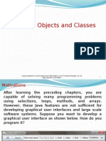 Java Programming Chapter 8 Object Oriented Programming