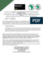 Multinational - Arusha – Holili-Taveta – Voi Road Corridor Development Project - EOI1