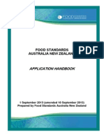 A Handbook FOOD STANDARDS
