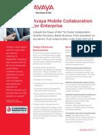 Avaya Mobile Collaboration for Enterprise