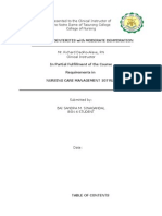 Acute Gastroenteritis with moderate dehydration