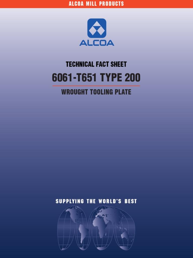 6061-T651 | Machine Tool | Machining