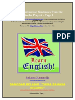 English:http://www.manythings.org/bilingual/ind/1.html