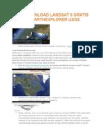 Cara Download Landsat 8 Gratis Melalui Earthexplorer