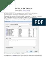 Conexao Postgresql Com Arcmap 10.1