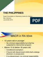 Restorative Justice in Philippines