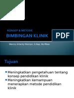 Konsep & Metode Bimbingan Klinik
