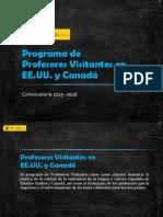 2014 Informacion General Programa Profesores Visitantes