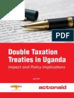 Double Taxation Treaties in Uganda