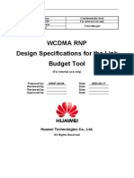 WCDMA RNP Design Specifications for the Link Budget Tool-20050526-A-3.5