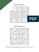 120 Live Sudoku Puzzles