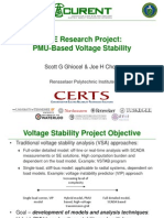 Rensselaer Chow Pmu Based Voltage Stability 20131023