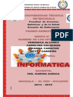 Exposicion de Informatica Grupo 1