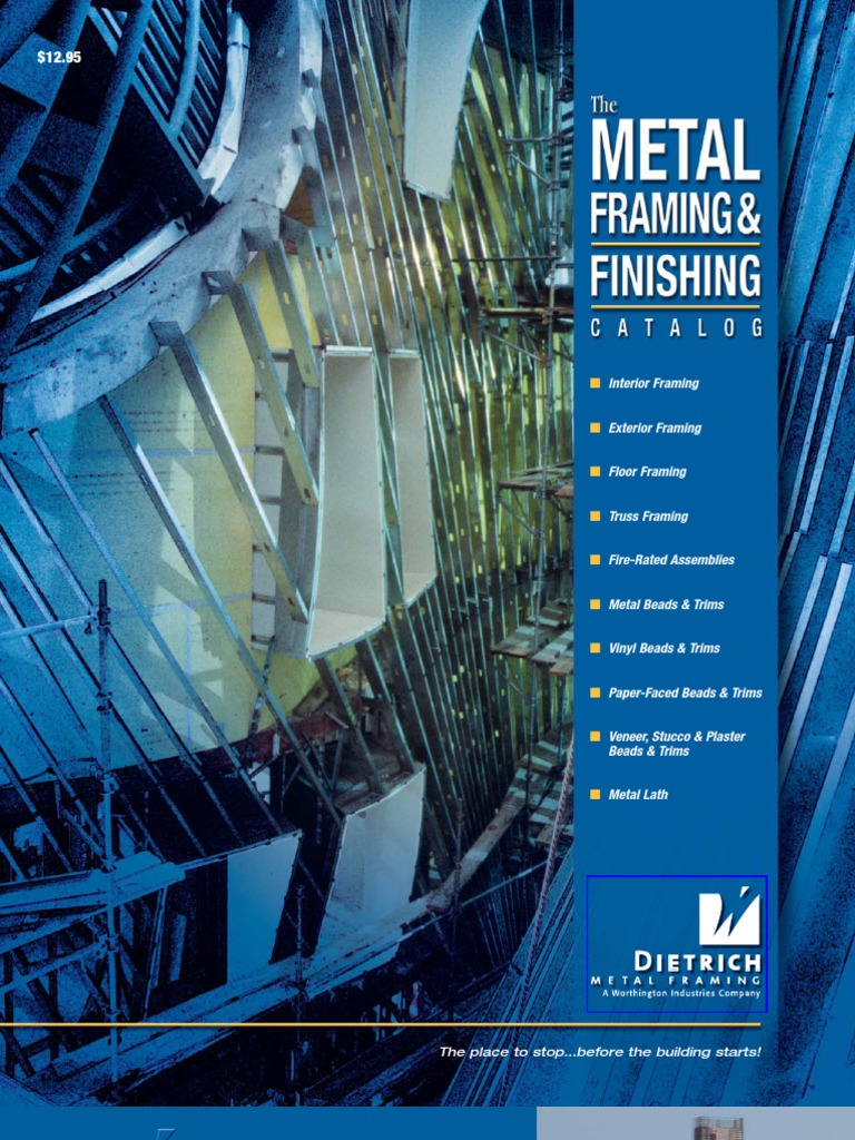 metal framing and finishing catalog