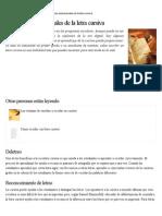 Beneficios Educacionales de La Letra Cursiva _ EHow en Español