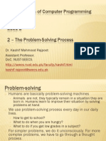 2 - The Problem-Solving Process
