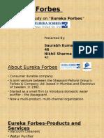 Eureka Forbes Dm Case Study Ppt