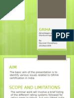 GRIHA rating system