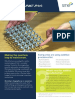SME Fact Sheet Additive Manufacturing