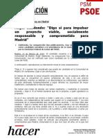 Primera intervención de Ángel Gabilondo como candidato socialista a la Comunidad de Madrid (PDF)