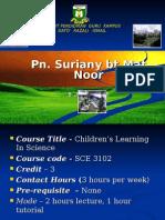 Registration for Course