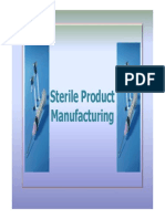 Sterile Product Manufacturing