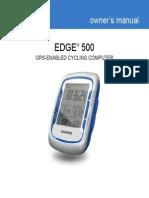 Edge 500 Instructions