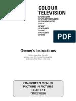 SP47W3HF owner manual