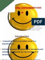gingival esthetics in periodontics