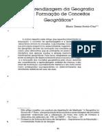 A aprendizagem de Geografia e a formação de conceitos.pdf