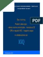 Atti - UNSIDER IGQ Prodotti Siderurgici