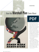 How the Marshall Plan Came About 000