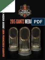 2015 SF Giants Media Guide