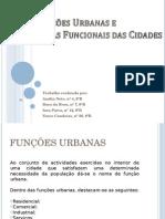 Funções Urbanas